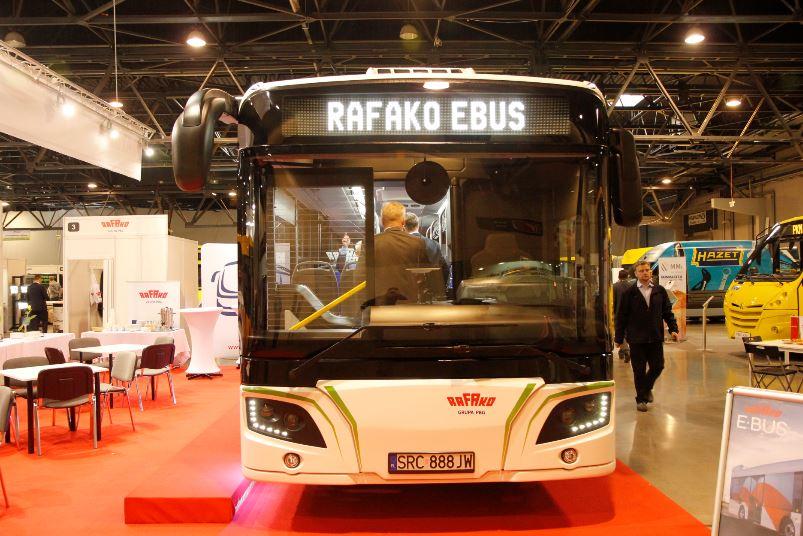 Rafako e-bus fot. materiały prasowe