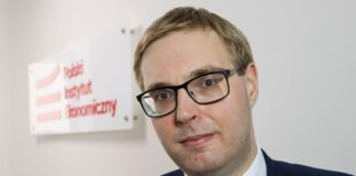 Jan Sarnowski, wiceminister finansów fot. Borys Skrzyński